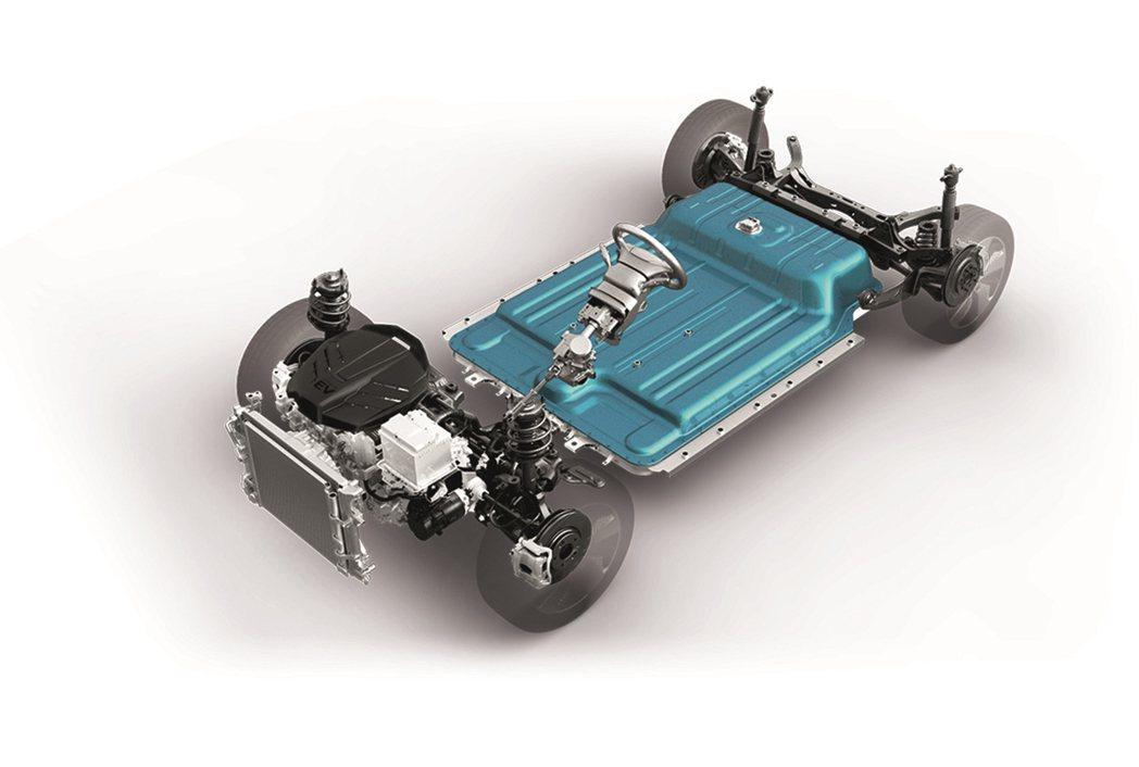 液冷式鋰離子聚合物電池8年16萬公里保固。 圖/南陽實業提供