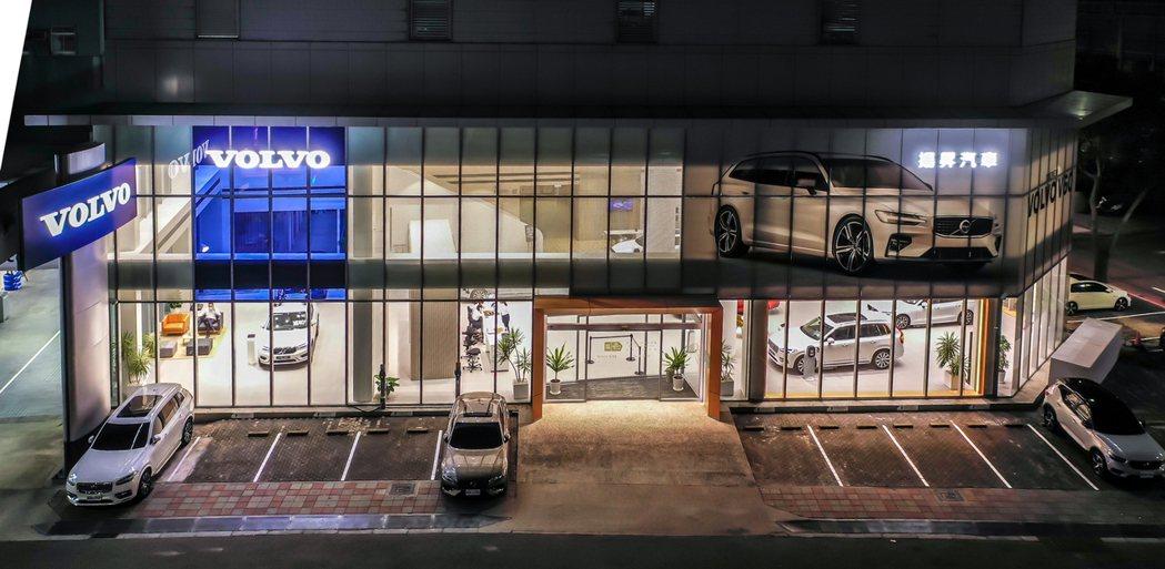 座落於新竹市區的 VOLVO 揚昇汽車已正式升級為符合瑞典原廠 VRE 5.0 ...