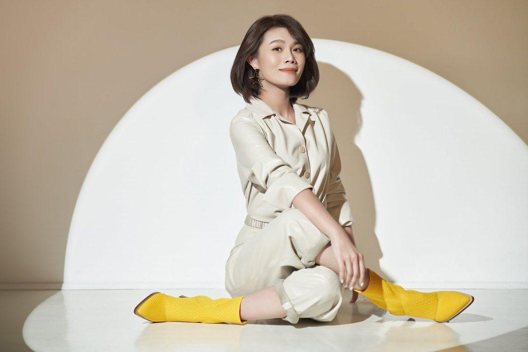 朱海君以「夢見蘇西」入圍第32屆金曲獎最佳台語女歌手獎。圖/豪記唱片提供