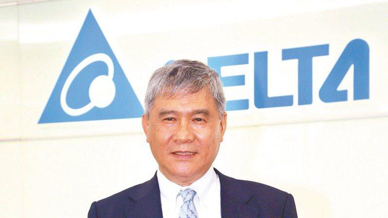 台達電董事長海英俊(本報系資料庫)