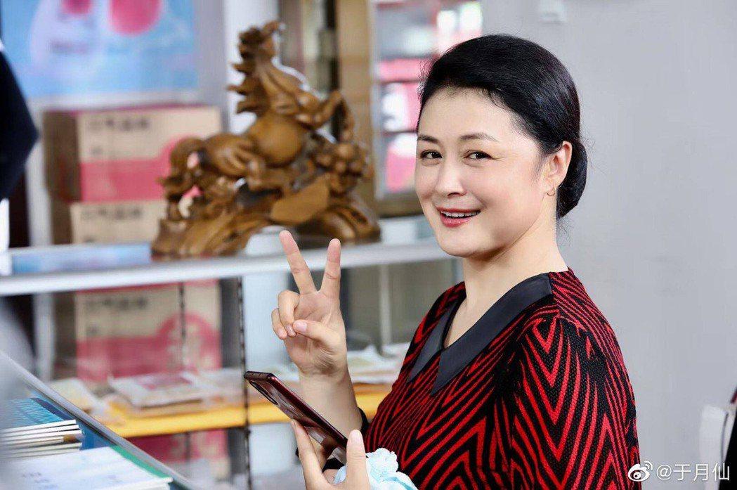 大陸女演員于月仙當年以電視劇「鄉村愛情」中的「謝大腳」角色成名。圖/摘自微博