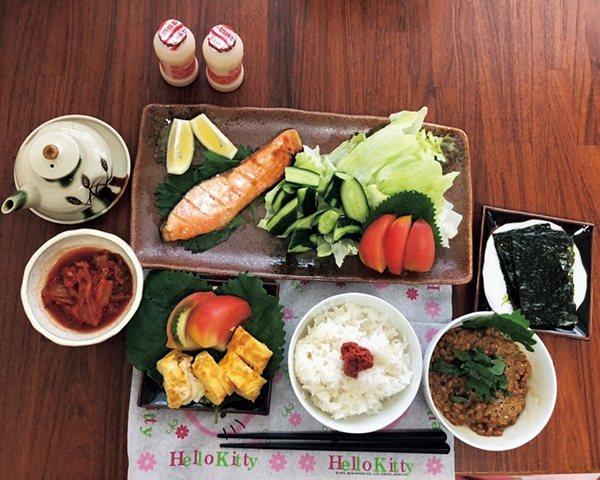 三餐營養均衡,也是瀧島未香保持健康的秘訣之一。 圖/取自50+