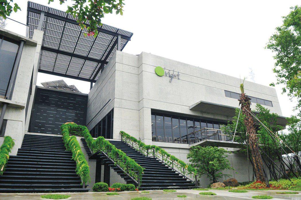 歐萊德國際股份有限公司綠色化粧品廠。 圖/低碳建築聯盟提供