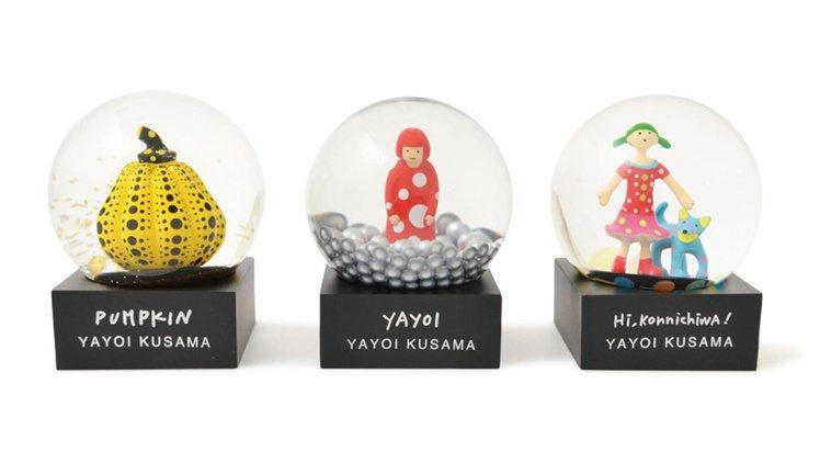 2019年紐約現代藝術博物館推出的草間彌生經典水晶球。圖/取自MoMA Desi...