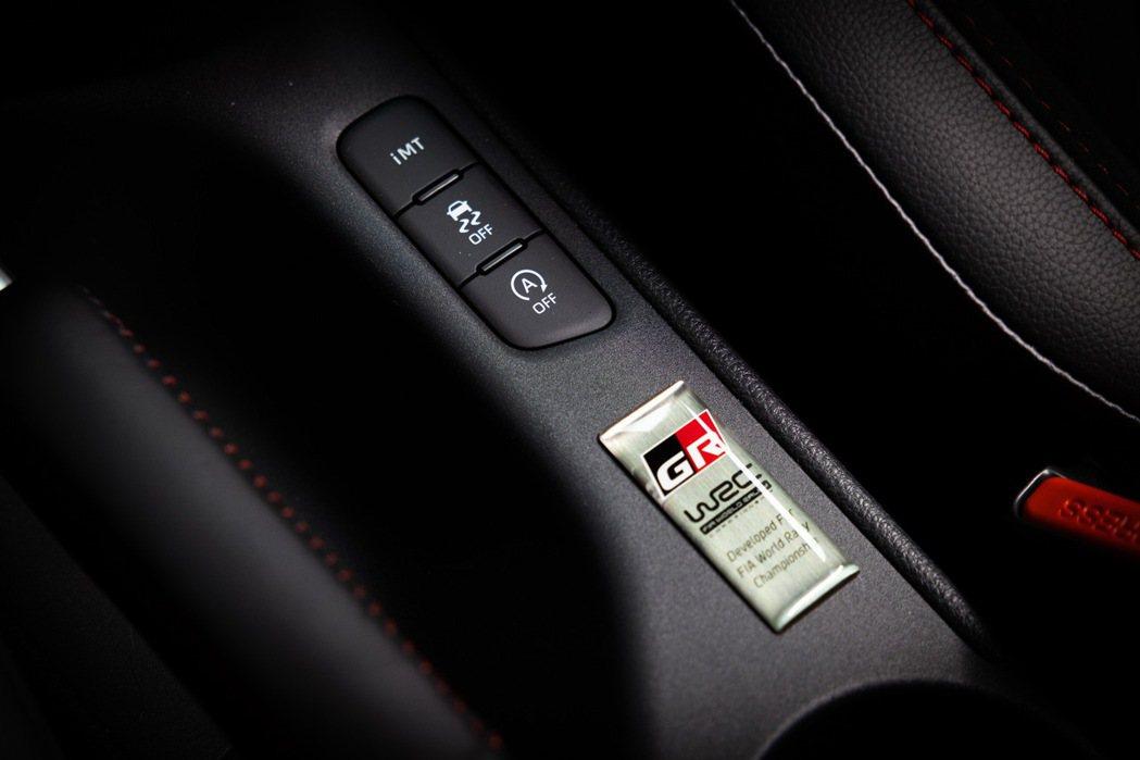 GR YARIS是TOYOTA第一台自主開發的性能車款,並運用多種專屬開發的規格...