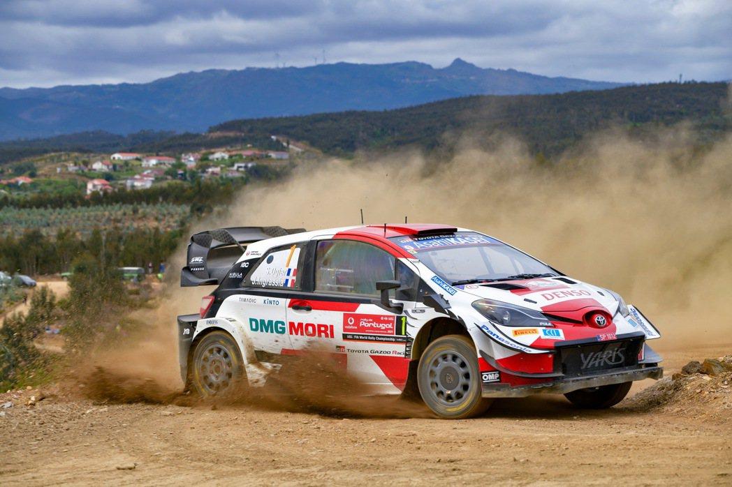TOYOTA GR YARIS是為了WRC拉力賽而生的車款。 圖/TOYOTA ...
