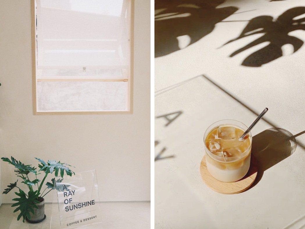 AROS Coffee的店名取自「A RAY OF SUNSHINE」。圖/江佩...