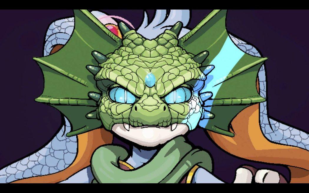 蜥蜴(?)面具的機制好玩,玩家在不能停止的狀態下閃躲障礙超難。