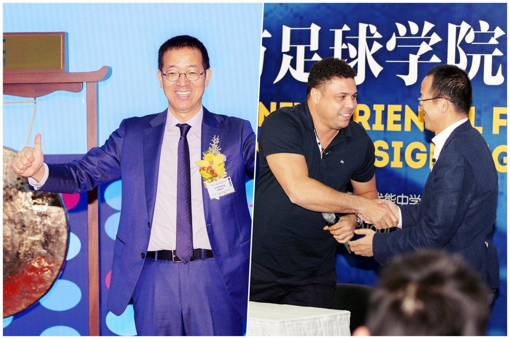 新東方創始者俞敏洪(左),中國教育事業龍頭最終不敵政府雙減政策的出手,身家一夕縮...