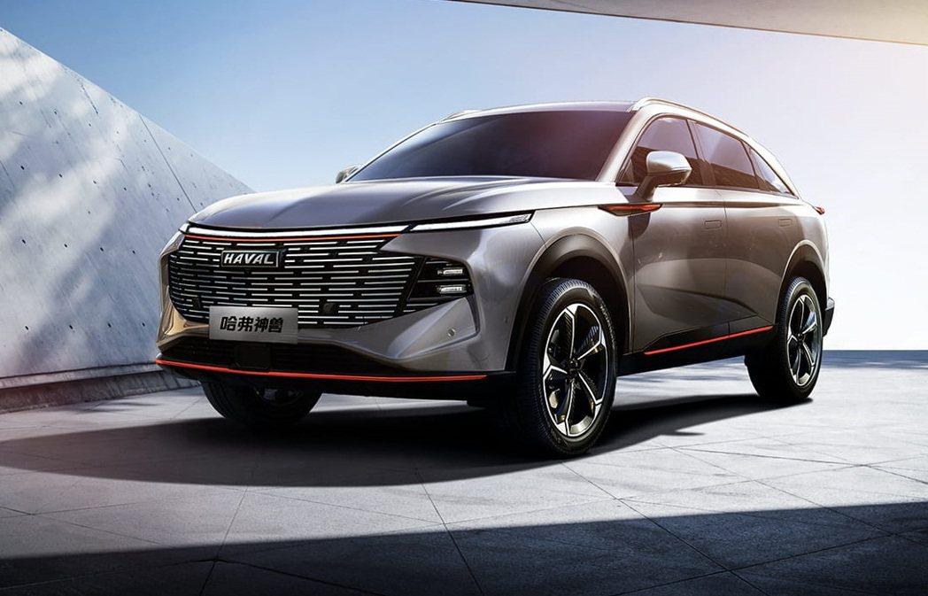 中國長城汽車最新期建SUV哈弗神獸。 摘自長城汽車