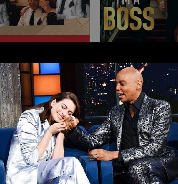 圖/儂儂提供 Source:Anne Hathaway @IG