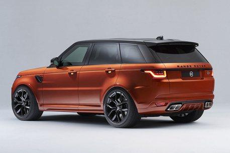 高調專屬車色,台灣可選!Land Rover Range Rover Sport SVR推SV BESPOKE特仕版