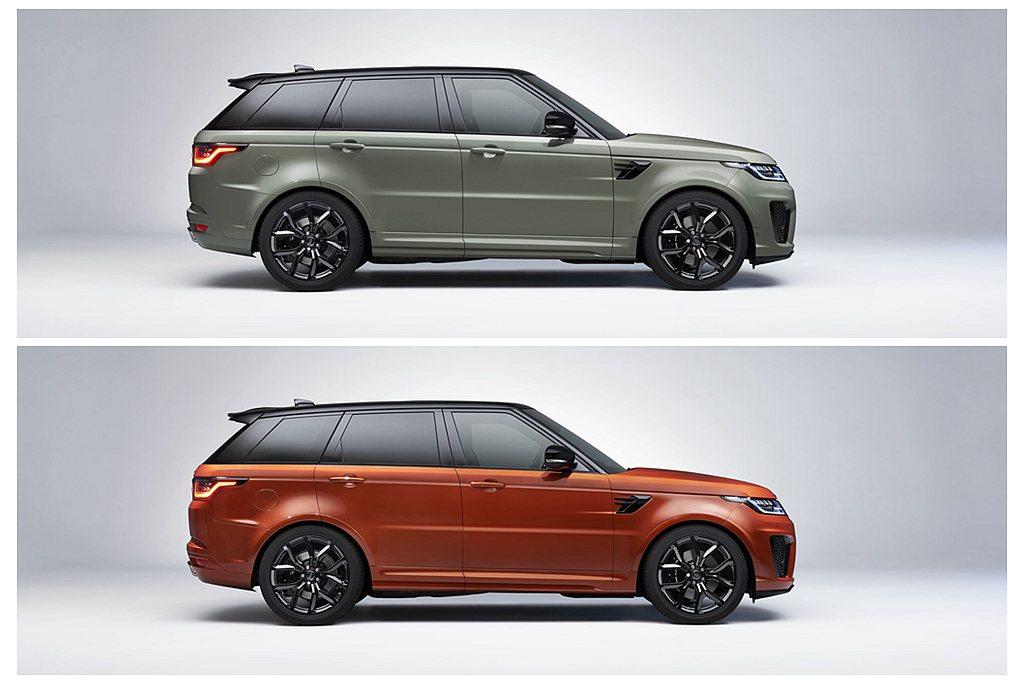 SV Bespoke專屬特製車色選購價為新台幣540,000元,SVR Logo...
