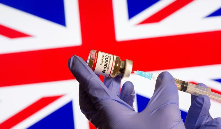 研究指出,英國到今年底將囤積2.1億劑新冠肺炎疫苗,遠超過實際需求。路透