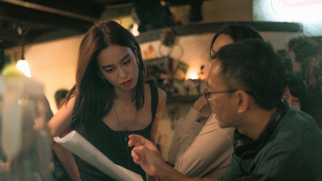 陳庭妮新電影「青春弒戀」資訊量大。圖/電影「青春弒戀」提供