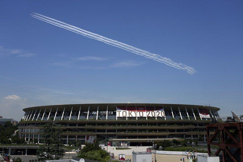 東奧開幕式主場館國立競技場1年維護費要24億日圓。美聯社