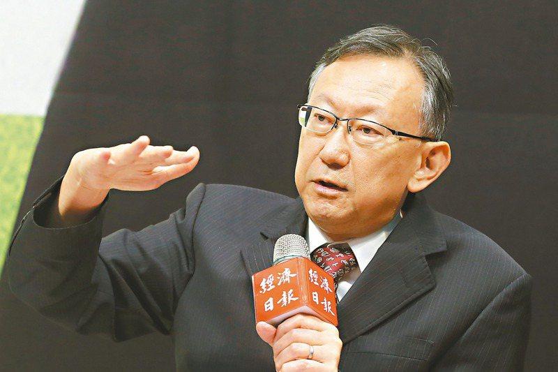 蕭代基認為,之前傳出每噸二氧化碳100元或300元台幣都太低,他建議台灣的碳費應等同歐盟最新碳排放交易價格。圖/聯合報系資料照片