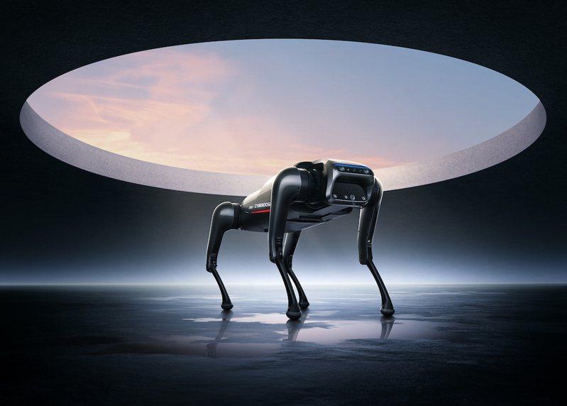 小米今天在大陸北京秋季新品發佈會,推出首款仿生四足機器人──CyberDog亮相。小米提供
