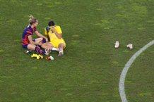 女足/從對手變情人 美澳銅牌戰後兩人熱吻照引熱議