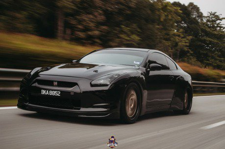這可能是一台改的最像老大哥Nissan GT-R的Infiniti G35 Coupe了