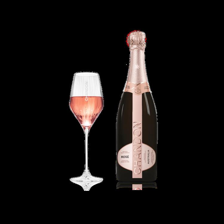 澳洲香桐酒廠的粉紅氣泡酒,是歷年不敗情人節首選。圖/酩悅軒尼詩提供。提醒您:禁止...
