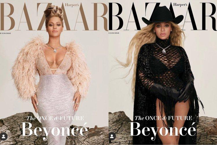 碧昂絲成為美國珠寶品牌Tiffany的代言人。圖/取自IG @beyonce