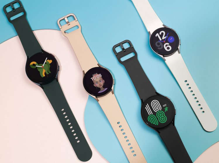 Samsung Galaxy Watch4採用極簡現代的流線設計。圖/三星提供