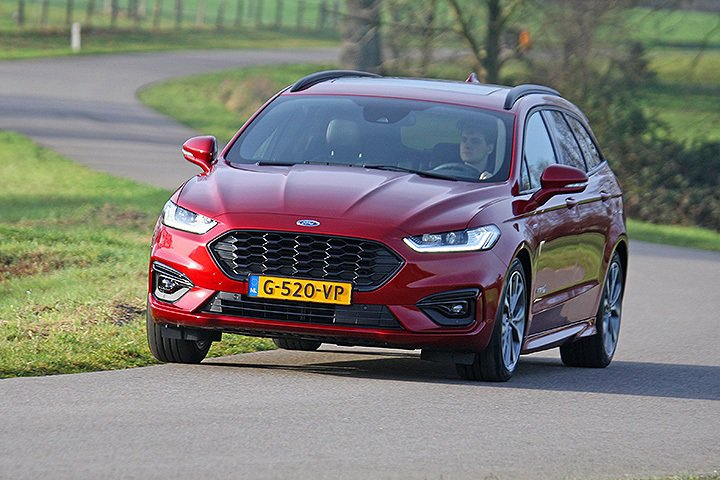 Ford Mondeo Wagon ST-Line。 摘自Ford