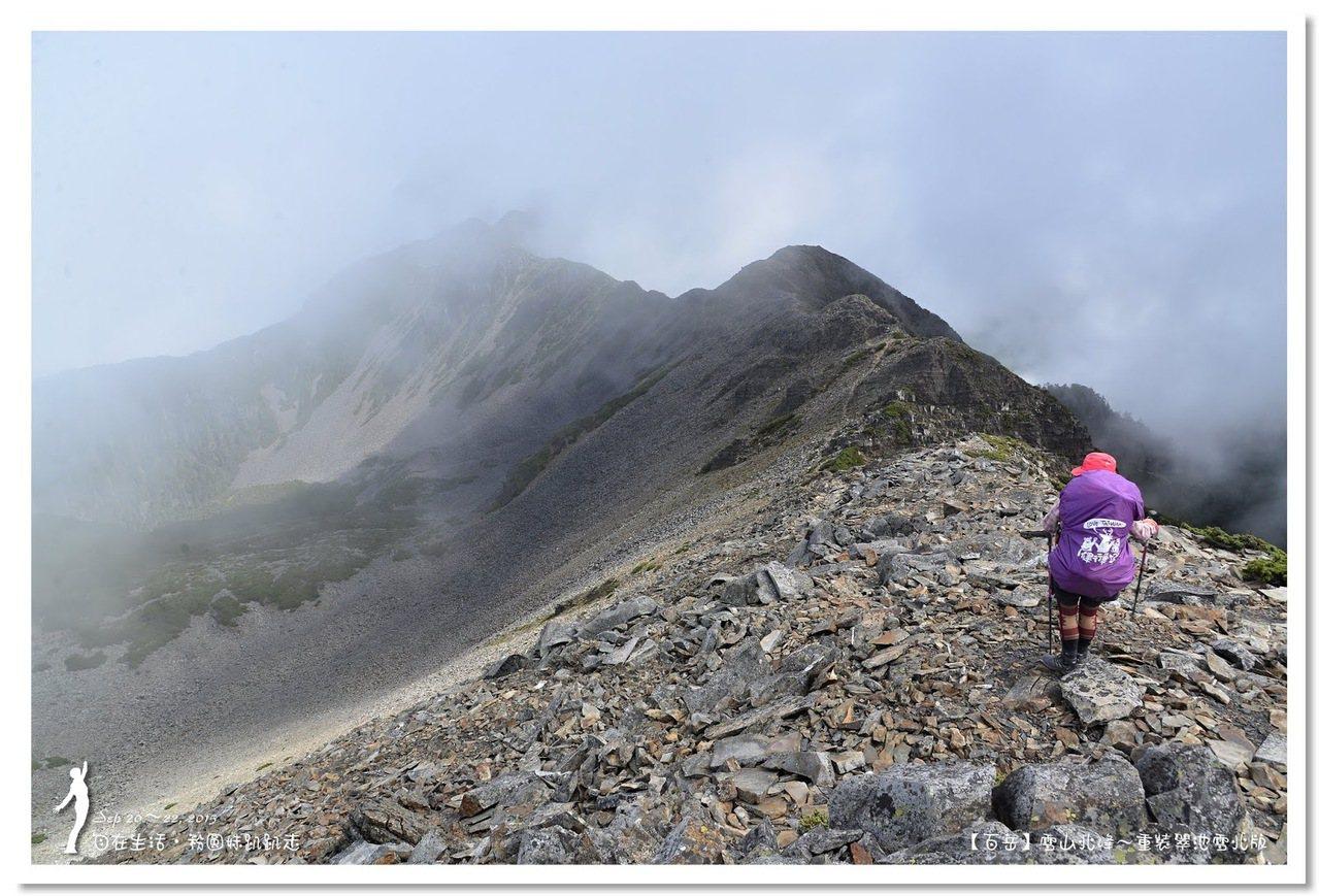 百岳-雪山北峰 圖/粉圓妹趴趴走資料照片