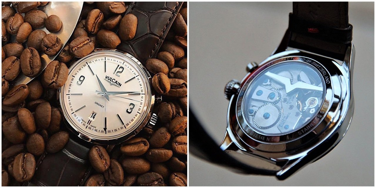 Vulcian Tradition腕表的鬧鈴功能有著品牌經典的「蟋蟀」聲,也像咖...
