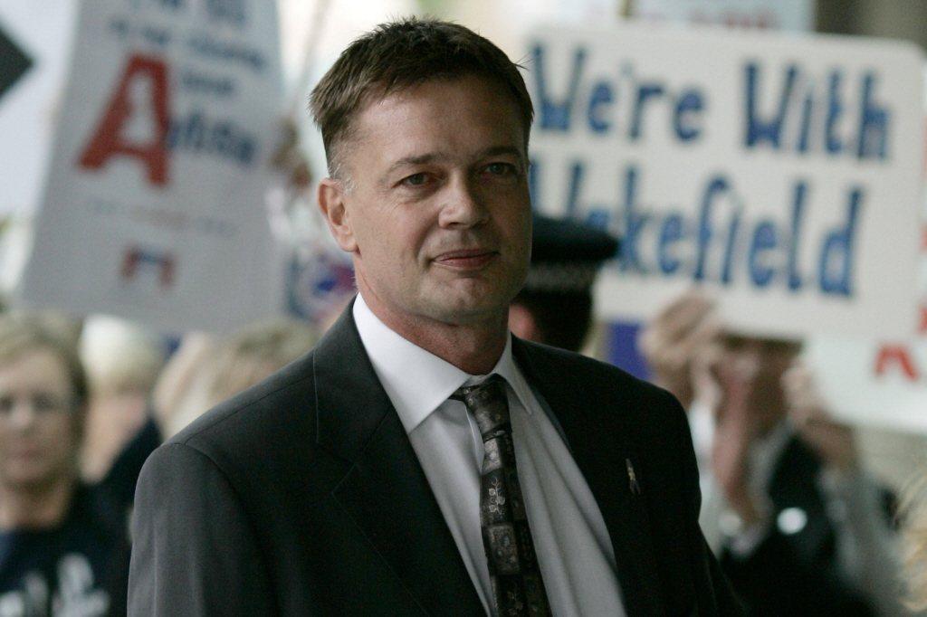 2007年7月,韋克菲爾德到倫敦的綜合醫學委員會,因嚴重職業不當行為接受調查。 圖/美聯社