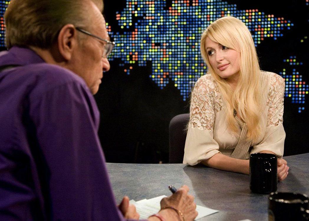 出獄隔天,芭黎絲就登上了Larry King的脫口秀節目。 圖/路透社