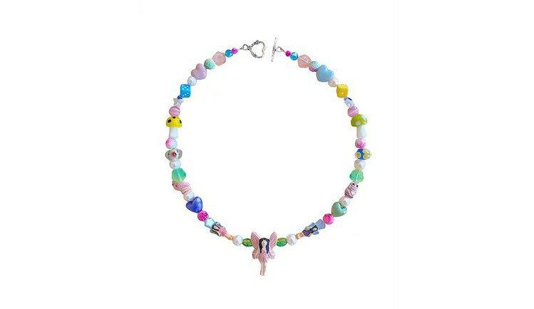 Jennie類似款ian charms項鍊,此品牌提供客製服務。圖/取自ian ...