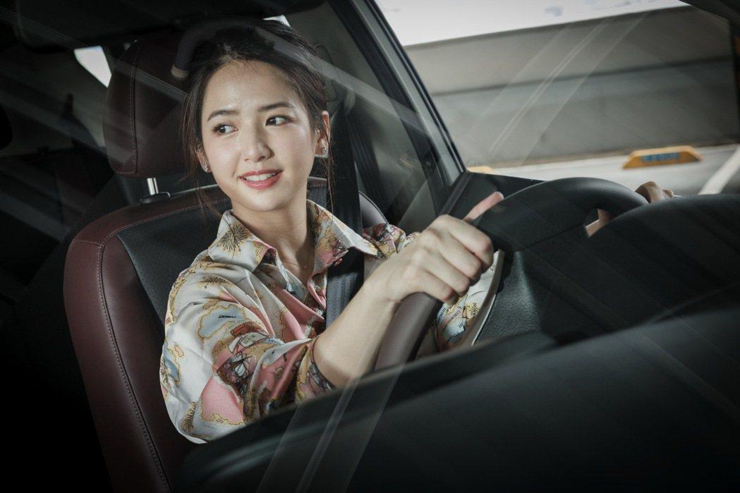 開車對於臧芮軒而言,是一種紓壓的日常生活。 記者沈昱嘉/攝影