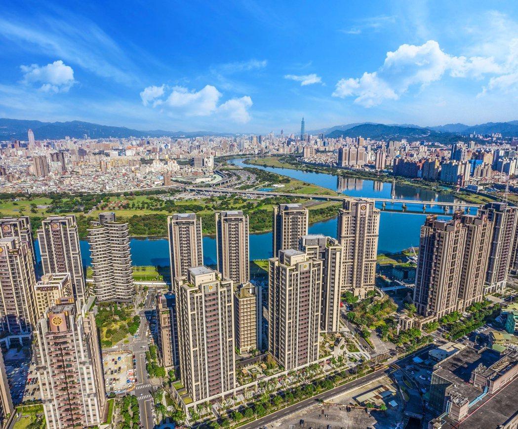 中和水岸重劃區街廓整齊,內有四座主題公園,生活環境怡人(圖/遠雄CASA提供)
