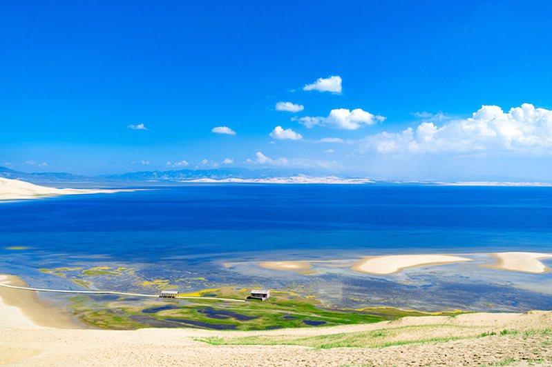 ▲位於大陸內陸的青海,擁有面積廣袤的湖泊。  圖:Shutterstock╱來源