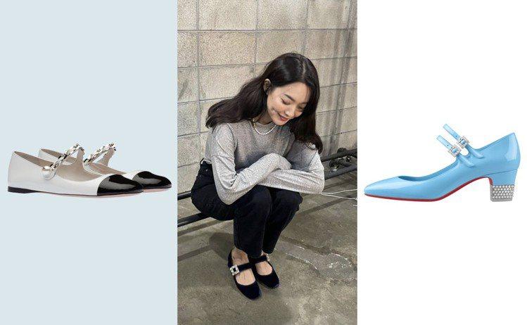 今年秋冬,許多時尚品牌也都推出了新款的瑪莉珍鞋,結合各種材質裝飾與不同面料、跟高...