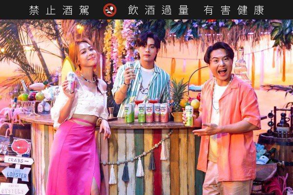 告五人「贊聲」  全新渡假系調酒Safari Club微醺登場