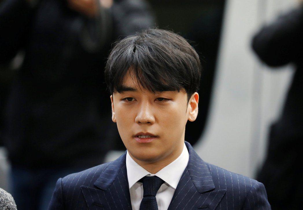 前南韓流行音樂男團Big Bang成員勝利。 路透資料照片