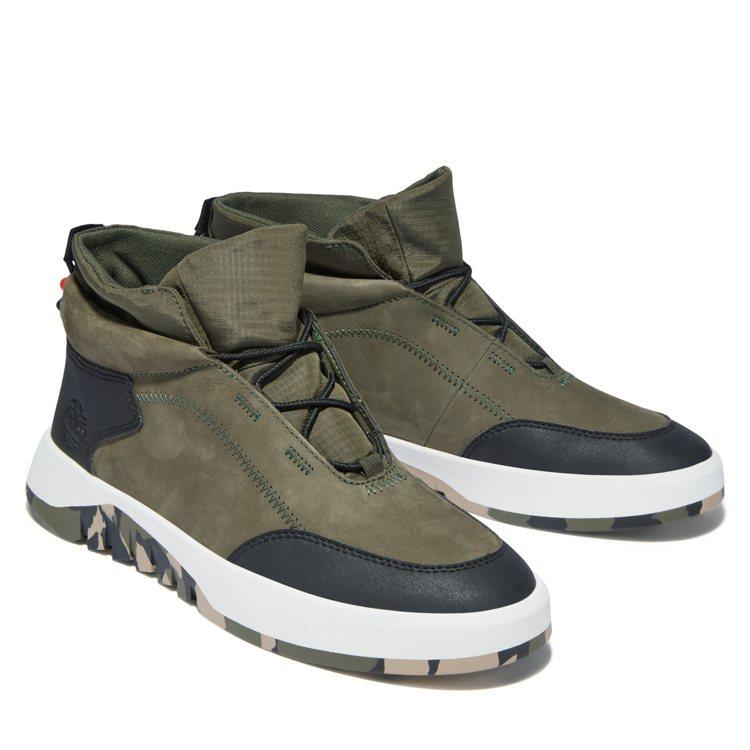 Timberland Supaway皮革中筒靴4,200元。圖/Timberla...