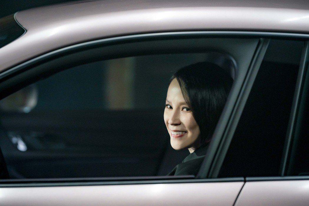 楊乃文的駕車技術被讚「好帥」。圖/Porsche提供