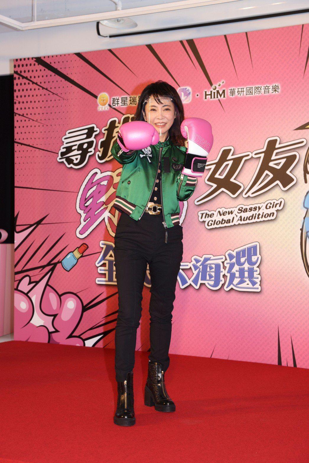 偶像教母柴智屏拿下華語版「我的野蠻女友」版權。記者王聰賢/攝影