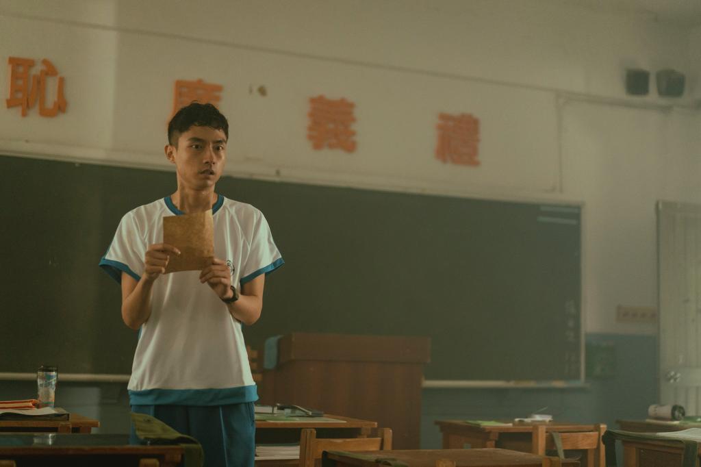 「池塘怪談」影集由「大鶴」林鶴軒擔綱男主角。圖/myVideo提供