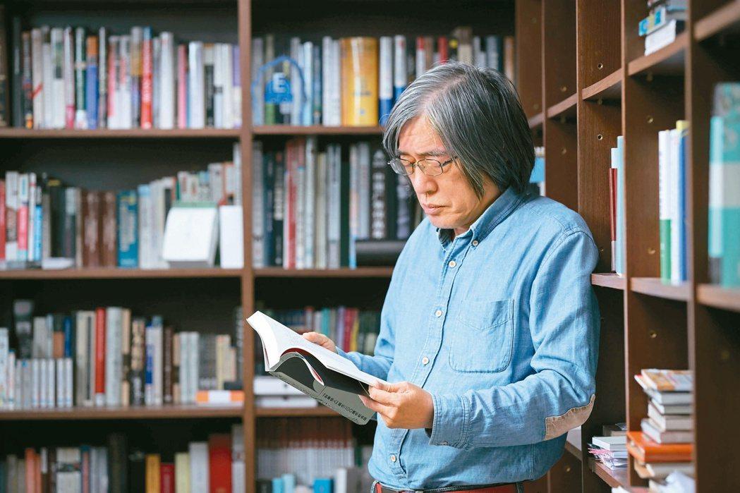 詹宏志希望能推動社會讀書風氣。記者葉信菉/攝影