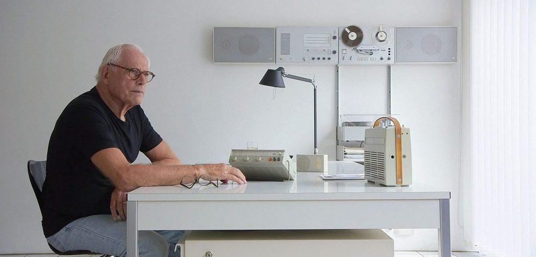 德國工業設計大師迪特・拉姆斯(Dieter Rams)。 ©Gary Hustw...
