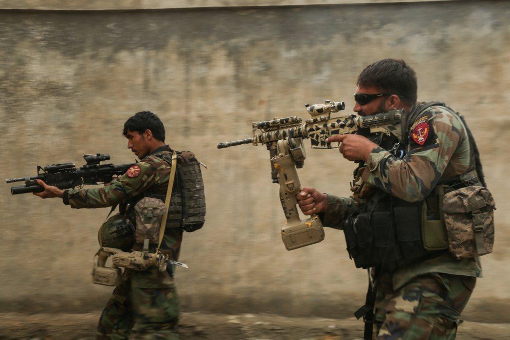 圖/阿富汗國防部