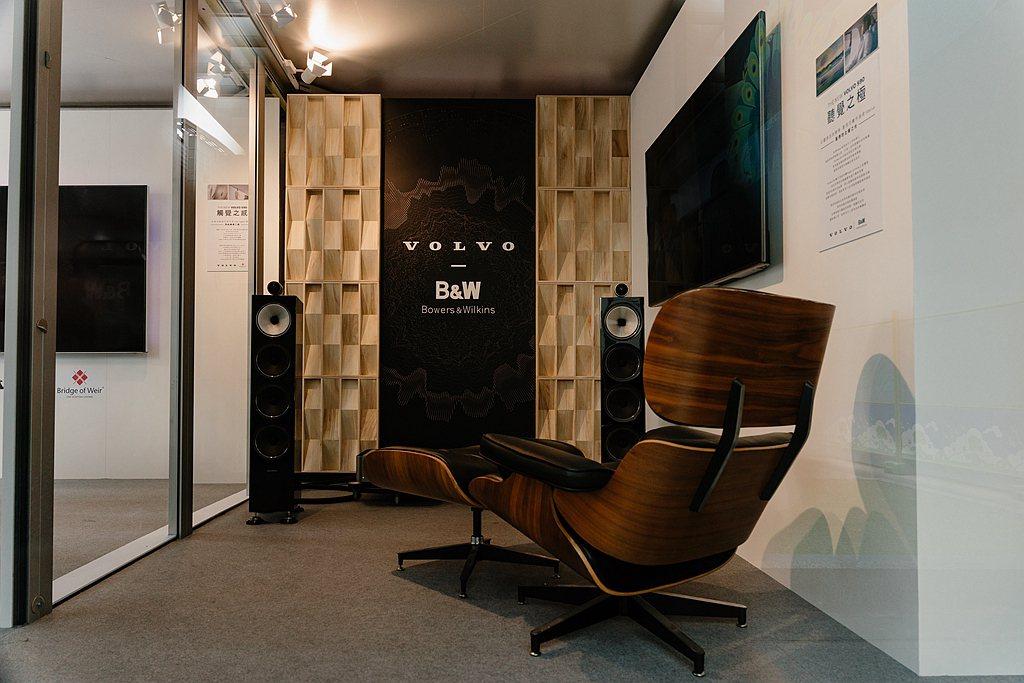 「聽覺之極」音韻空間,展示市售最頂階價值逾60萬發燒友級的Bowers & Wi...
