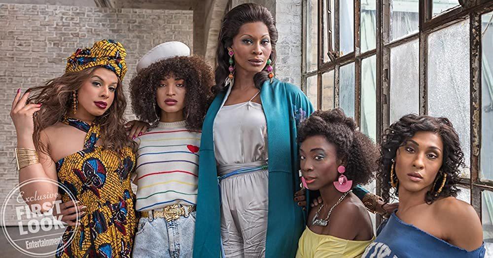 美劇金牌製作萊恩墨菲的「艷放80」 (POSE)今年第三季最終回。圖/擷自imd