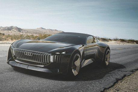 影/Level 4與可變軸距!Audi skysphere concept開啟未來移動無限可能