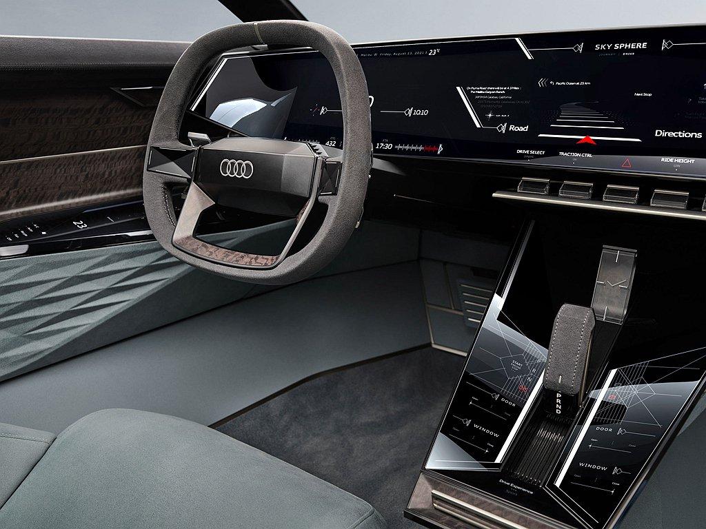 車艙內即可連結使用家中的串流娛樂平台,亦可使用多項旅遊行車路線與探索餐廳服務功能...